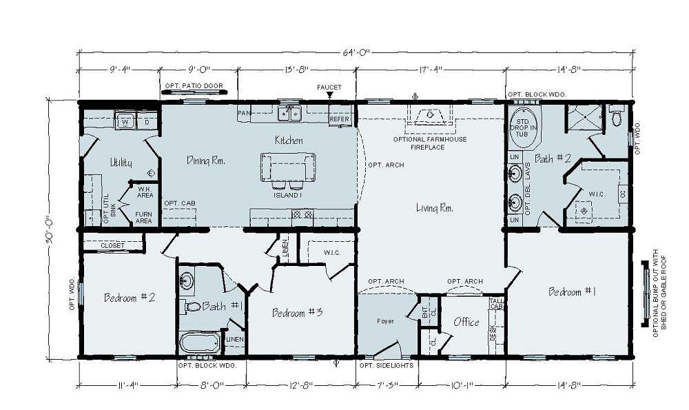 Modular Home - Roosevelt